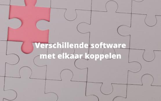 verschillende software pakketten koppelen